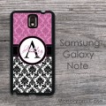 Beautiful damask design Galaxy case