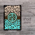 Cheetah animal  print design custom iPad mini