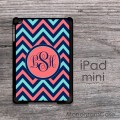 Mix chevron iPad mini personalized case
