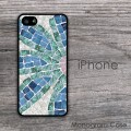 Flower mosaic design iPhone customized case