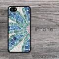Flower mosaic design iPhone customized case