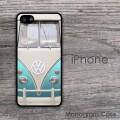 Original turquiose VW bus design iPhone case