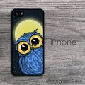 Owl print customized iPhone case