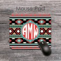 Old Indian aztec design computer mousepad