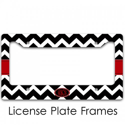 monogram license plates and lp frames for you monogramcasecom