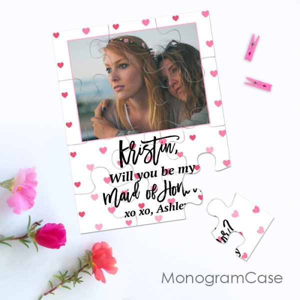 """""""I can't say i do without you""""  -  Be my Maid of honor puzzle invitation ?"""
