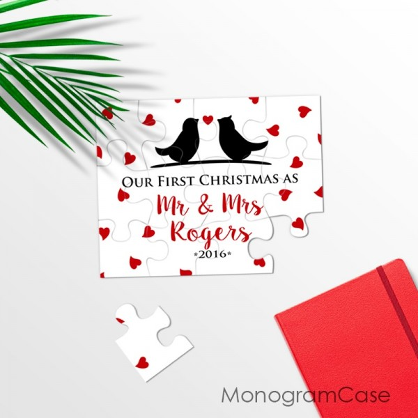 Love birds| Our first christmas puzzle