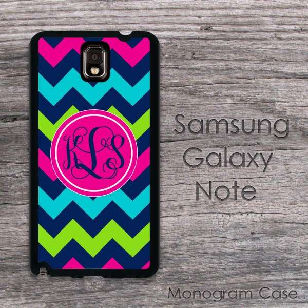 Playful design chevron pattern Samsung cover