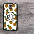 Sweet pineapples customized Galaxy Note cases