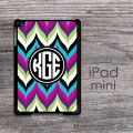 Mixed colors chevron elegant design iPad mini case