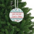 Our first Christmas ornament personalized memory gift