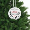 Аntlers christmas handmade ornament tree decor