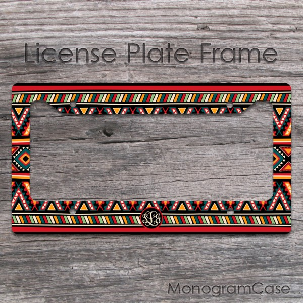 Gypsy  license frame personalized design