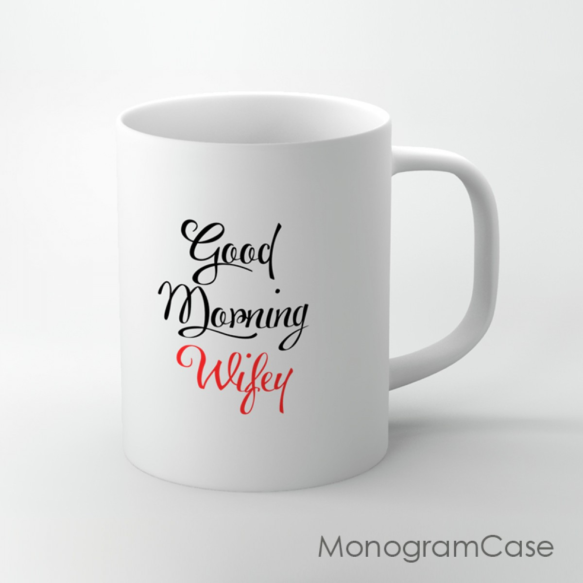 Good Morning Wifey Cute Coffee Mug