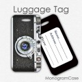 Retro camera- ID luggage tag travel gift